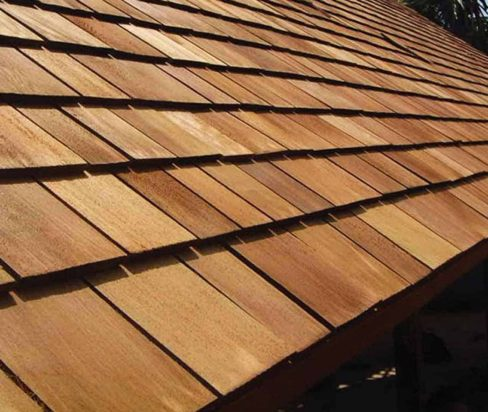 cedar roofing sample