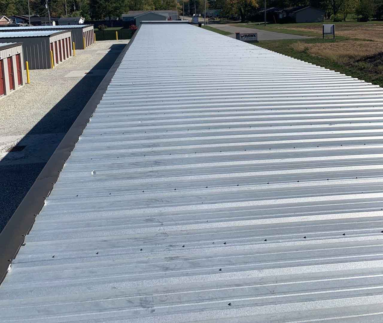 roofing for a commercial building