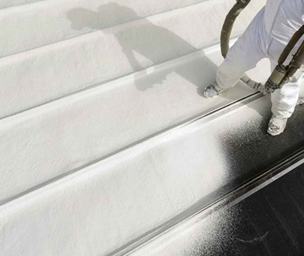spray foam roofing protects against leaks and damages