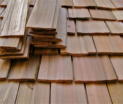 wood shake roofing project in indianapolis